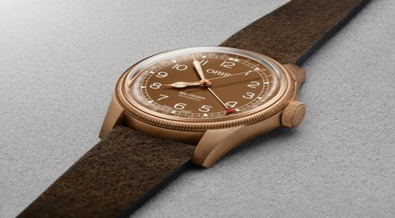 豪利时(Oris)大皇冠青铜最新手表