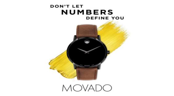 摩凡陀(Movado)推出不用数字来定义你''的2019冬季新款