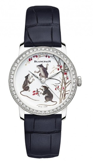 有趣的鼠年生肖腕表,给本命年留下时间记忆