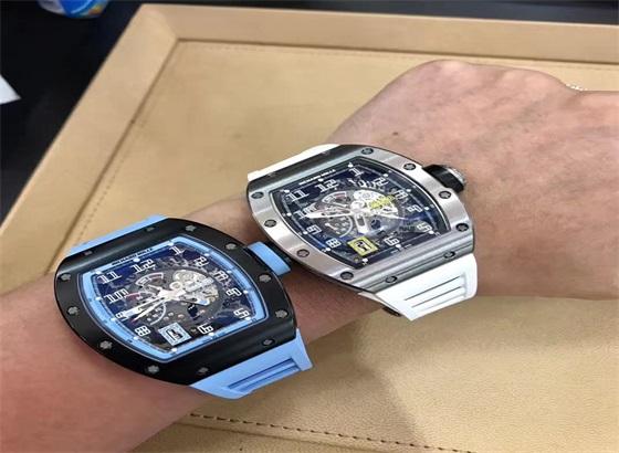 里查德米尔手表机械表怎样上发条