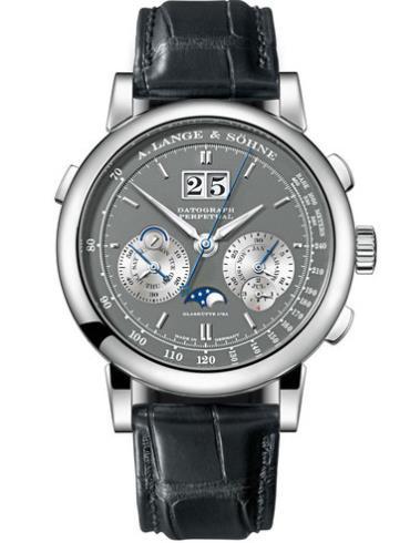 朗格高级腕表系列DATOGRAPH410.030白金表扣