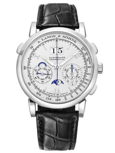 朗格高级腕表系列DATOGRAPH410.025铂金表扣