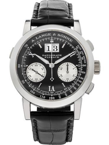 朗格高级腕表系列DATOGRAPH 403.035黑色表盘