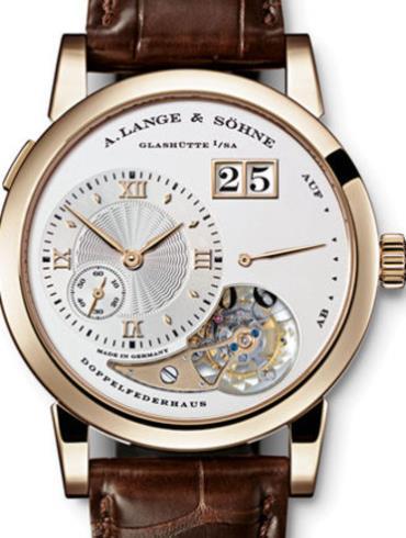 朗格722.050高级腕表系列针扣试表扣皮质表带
