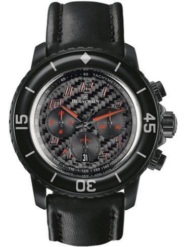 宝珀运动系列五十噚型5785F.B-11D03-63黑色表带