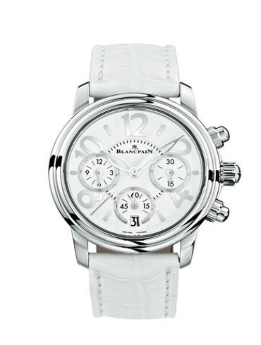 宝珀女装系列3485F-1127-97B白色表带