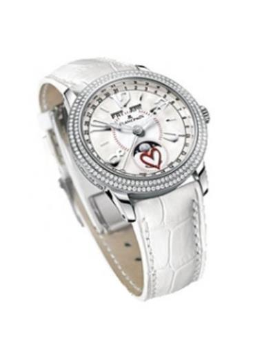 宝珀女装系列3363-4544-55B白色表带