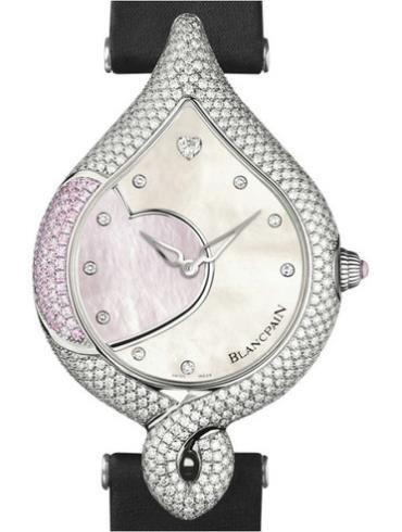 宝珀女装系列0081-5560-99粉色表盘