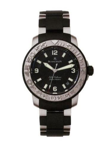 宝珀莱芒湖系列2200-6530-66黑色表盘