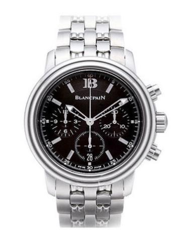 宝珀莱芒湖系列2185-1130-11黑色表盘男士手表