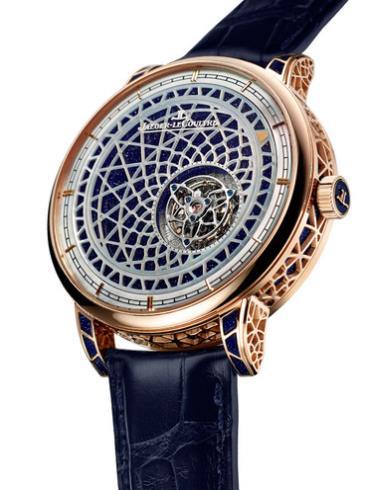 积家超凡复杂工艺神秘腕表系列Q52224X8蓝色表盘