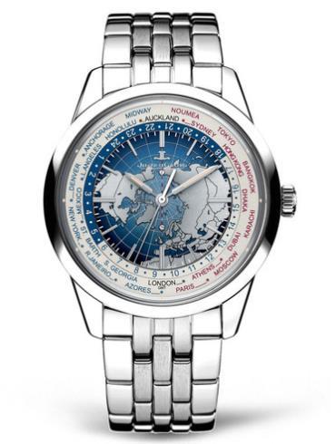 积家Geophysic地球物理天文台腕表系列Q8108120精钢表扣