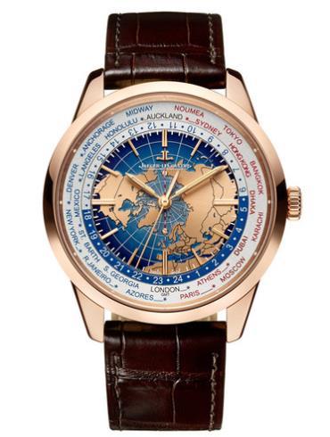 积家Geophysic地球物理天文台腕表系列Q8102520表径41.6mm