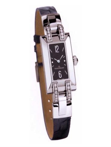 积家Q4608572Extraordinaires 高级珠宝腕表系列黑色表盘