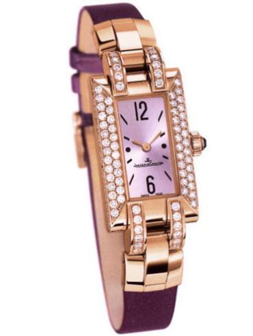 积家Extraordinaires 高级珠宝腕表系列Q4602502紫色表带