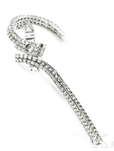 积家Extraordinaires 高级珠宝腕表系列Q2873301白金表扣
