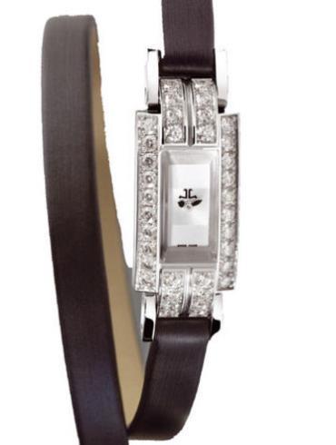 积家珠宝系列Q2853401银色表底盖