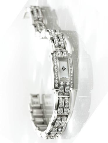 积家珠宝系列Q2853301银色表底盖