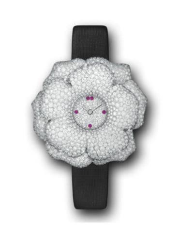 积家Extraordinaires 高级珠宝腕表系列Q4803402白金表扣
