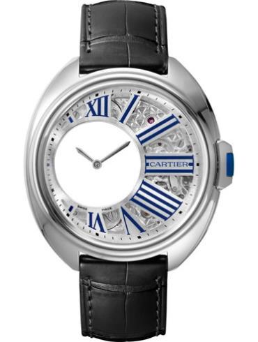 卡地亚 Clé de Cartier系列WHCL0003银色表盘