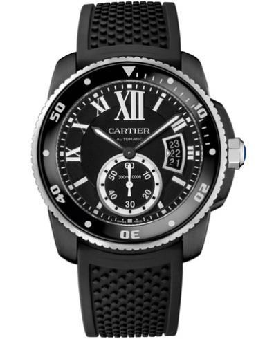 卡地亚Calibre卡历博潜水碳镀层WSCA0006
