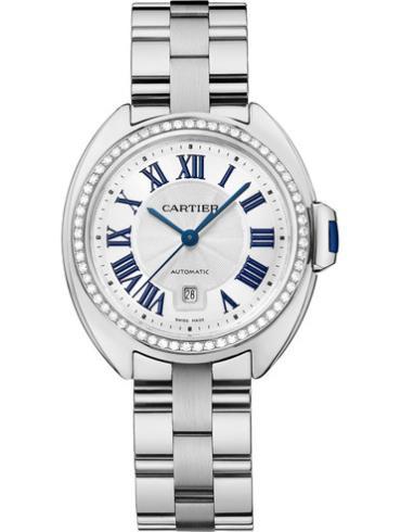 卡地亚Clé de Cartier系列WJCL0002银白色表盘
