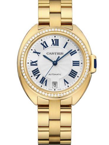 卡地亚Clé de Cartier系列WJCL0023金色表带