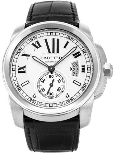 卡地亚卡历博系列W7100013黑色表带