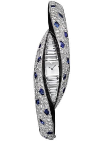 卡地亚高级珠宝Regard de Panthère猎豹凝视小时显示腕表HPI01029