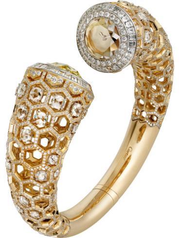 卡地亚高级珠宝Honeycomb蜂巢装饰腕表HPI00992