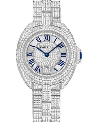 卡地亚Clé de Cartier系列HPI00980银灰色表盘