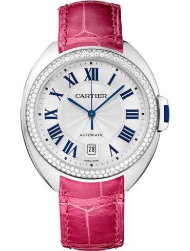 卡地亚Clé de Cartier系列WJCL0011樱桃红表带
