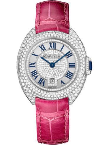 卡地亚Clé de Cartier系列WJCL0017白色表壳