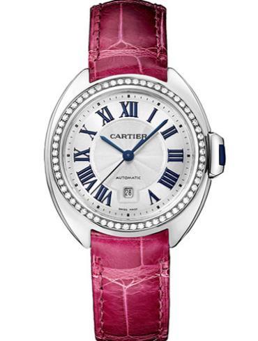 卡地亚Clé de Cartier系列WJCL0015银色表壳