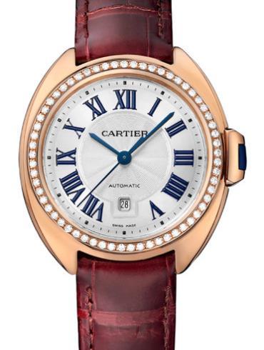 卡地亚Clé de Cartier系列WJCL0016银色表底盖