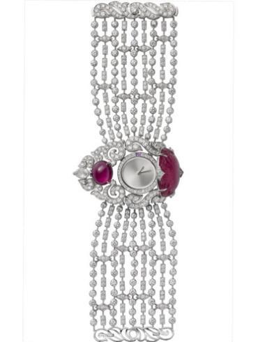 卡地亚高级珠宝神秘小时腕表HPI00460