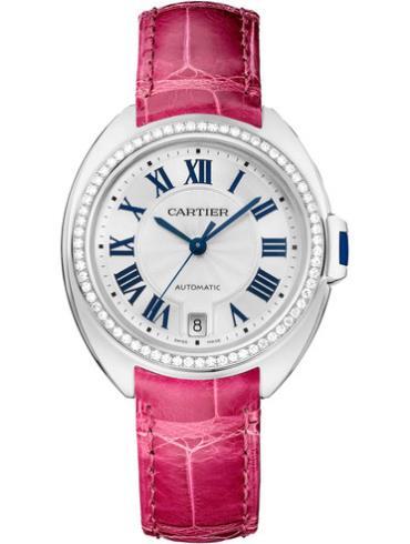 卡地亚Clé de Cartier系列WJCL0014桃红色表带
