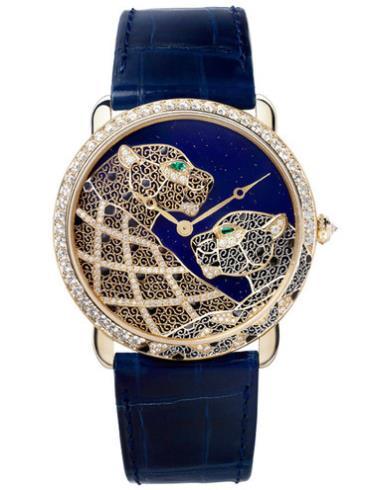 卡地亚创意宝石腕表系列HPI00929