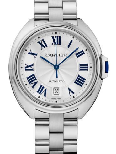 卡地亚Clé de Cartier系列WGCL0006银色表带
