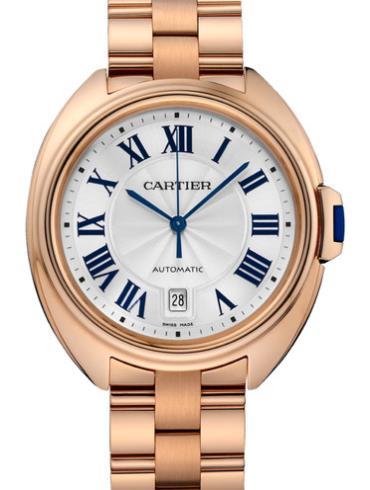 卡地亚Clé de Cartier系列WGCL0002 18k玫瑰金表扣