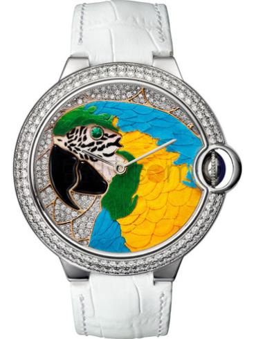 卡地亚创意宝石腕表系列HPI00769表经42mm
