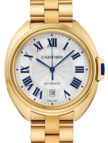 卡地亚Clé de Cartier系列WGCL0003 18k黄金表扣