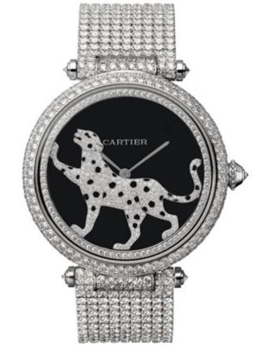 卡地亚创意宝石腕表系列HPI00690防水深度30m