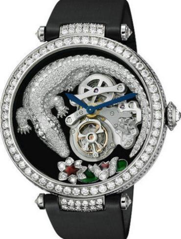 卡地亚高级珠宝系列HPI00414黑色表带