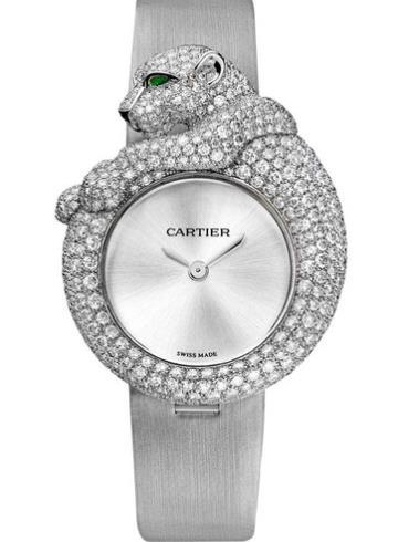卡地亚高级珠宝系列HPI00341银色表带