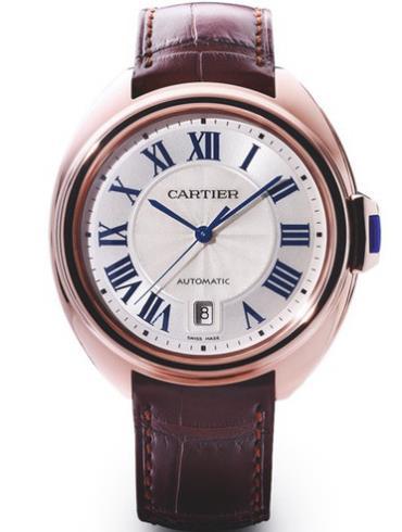 卡地亚Clé de Cartier系列红金男款CLE_DE_CARTIER2白色表盘