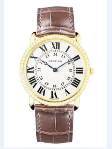 卡地亚Tortue系列WS000307 18k黄金表扣