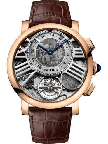 """卡地亚Rotonde de Cartier""""地球与月亮""""腕表WHRO0013"""