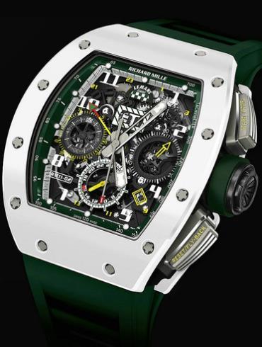 理查德米勒限量版RM 11-02 Le Mans Classic绿色表盘