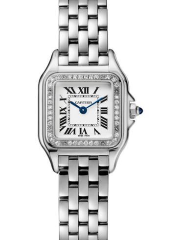 卡地亚Panthère de Cartier腕表W4PN0007银色表盘